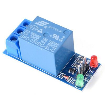 Details About 5v 1 Channel Relay Board Module Optocoupler Led For