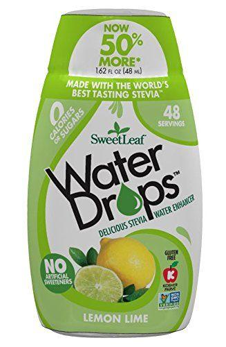 Sweetleaf Waterdrops Lemon Lime 1 62 Ounce Sweetleaf Https Www Amazon Com Dp B078ykjgm4 Ref Cm Sw R Pi Dp U X 5zfocb Lemon Lime Water Water Enhancer Stevia