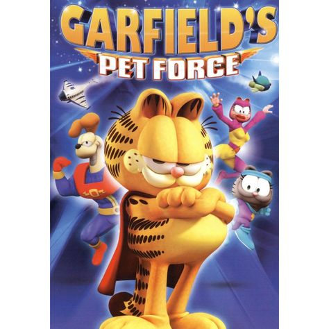 Garfield's Pet Force, Movies