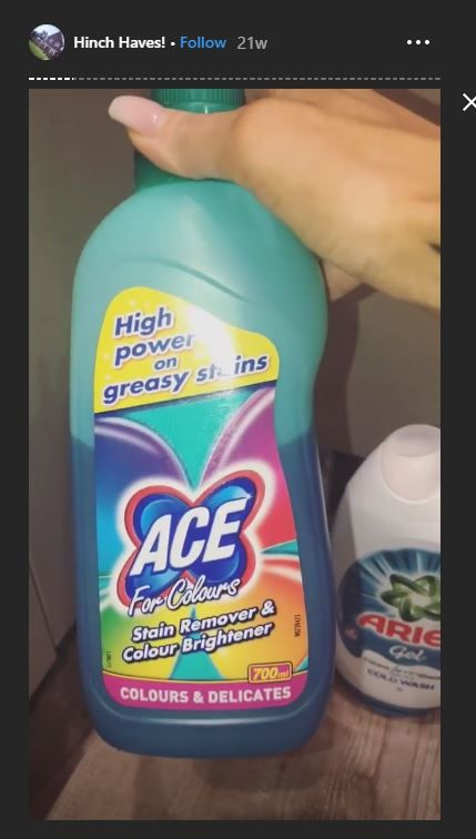 Ace Laundry Stain Remover 1 Laundry Stain Remover Stain Colors Spray Bottle