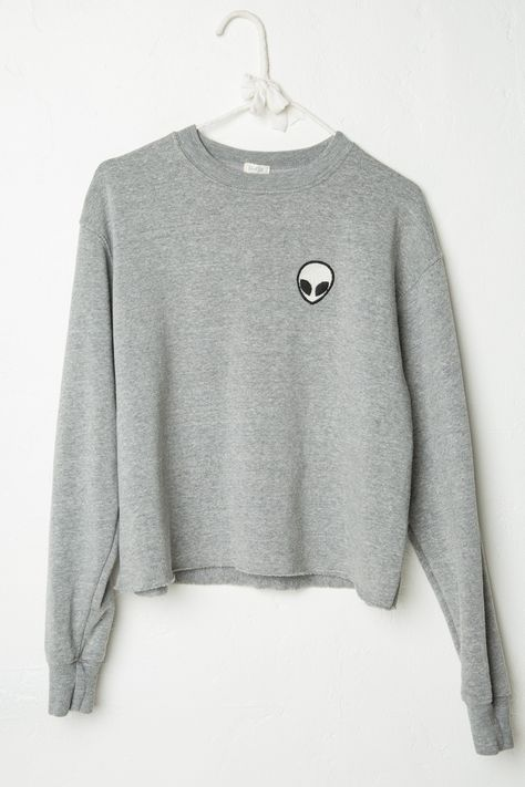 Brandy ♥ Melville | Acacia Alien Patch Sweatshirt