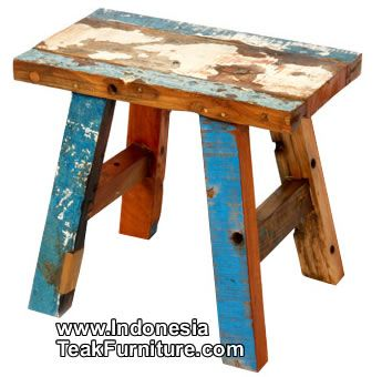 Bc RecycledBoatFurniture Factory Bali Painted Furniture - Bali sourcing recycle wood ready for furniture manufacturing