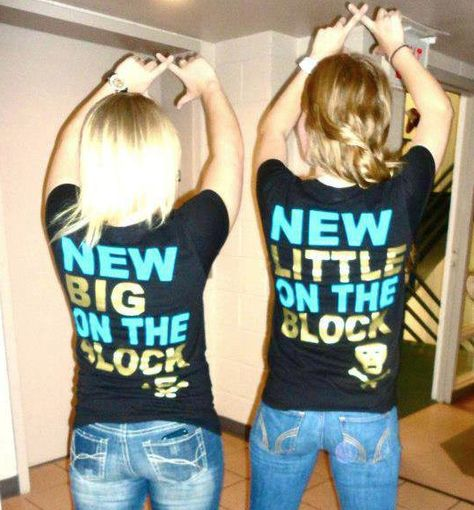 new big on the block • new little on the block! | sorority sugar