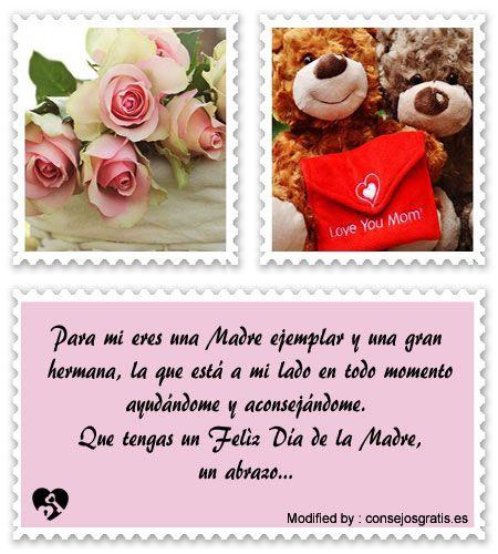 Lindos Mensajes Por El Dia De La Madre Para Una Hermana Bonitas