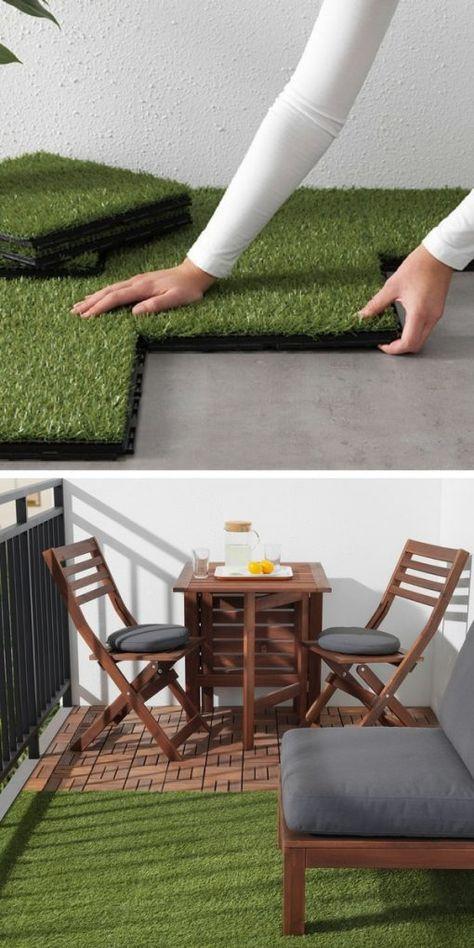 101 Idees Deco Amenagement Pour Un Petit Balcon Patio Pequeno