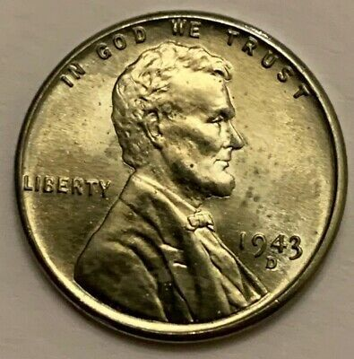 1943 D Steel Lincoln Wheat Cent Penny Bu Uncirculated A1025 Ebay In 2020