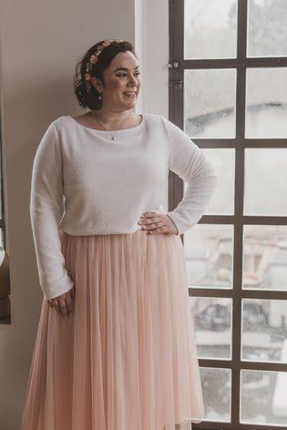 Brautkleider In Grossen Grossen Noni Brautkleid Kleid Standesamt Braut Brautjacke