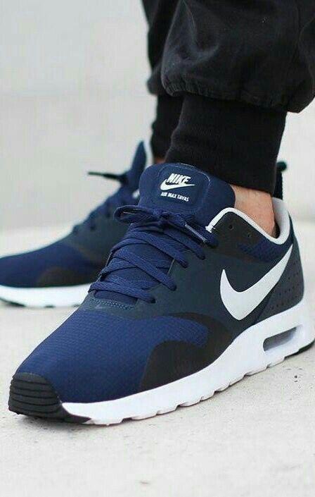 Shops Air Max Tavas Nike Black White Black Men's Running