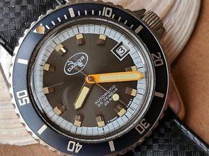 Vintage Dacor Diver 1970 S Dive Watches Diver Dacor