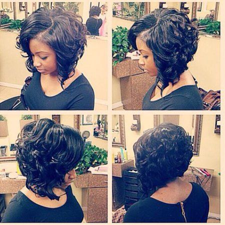 Short Curly Weave Styles, Curly Hair Styles, Natural Hair Styles, Short Sassy Hair, Short Hair Wigs, Styles Bob, Waves Curls, Curly Weaves, Mi Long
