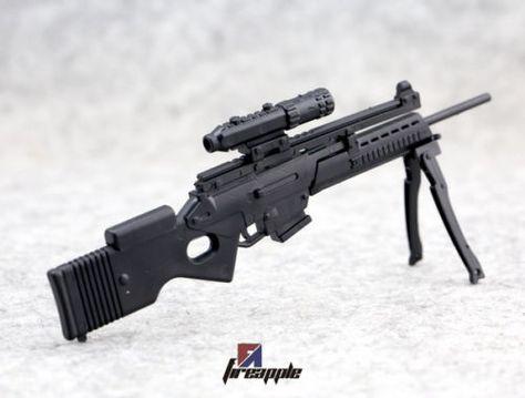 "4D assembled 1//6th Weapon Model SL8 Sniper Rifle Gun Model For 12/"" Figure"