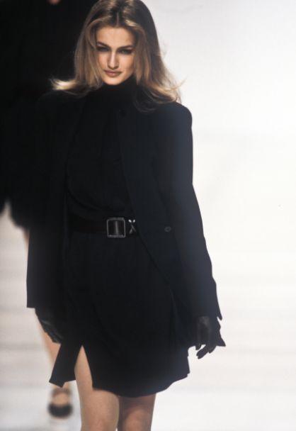 supermodels Karen Mulder Giorgio Armani RTW F/W 1991