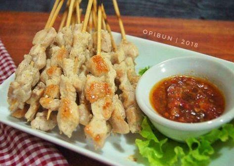 Resep Sate Taichan Sambal Korek Oleh Opibun Resep Resep Masakan Resep Makanan Makanan Dan Minuman