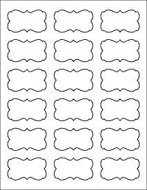 Free Printable Bag Label Templates  Candy Labels Blank Image
