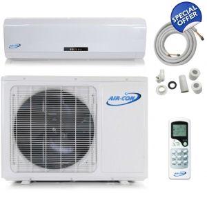 Aircon 12 000 Btu 110v 15 Seer Mini Split Heat P Heat Pump Air Conditioner Heat Pump Heat