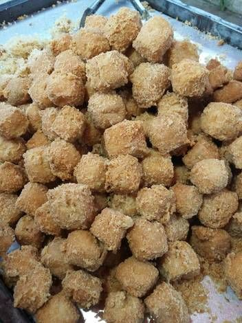 Resep Tahu Krispy Kriuk Oleh Nunuy Julaiva Resep Makanan Anjing Resep Tahu Puding Roti