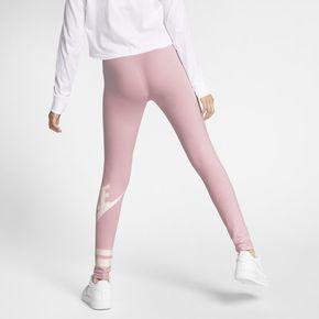 Nike Sportswear Older Kids' (Girls') Graphic Leggings - Pink