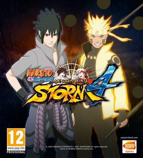 بعد انتظار طويل لعبه ناروتو شيبودن Naruto Shippuden اصبحت بين يديكم Naruto Games Bandai Namco Entertainment Naruto Shippuden