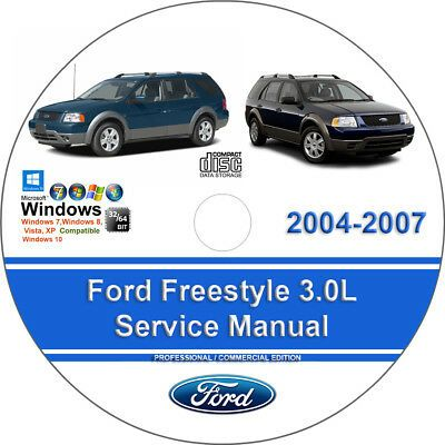 Advertisement Ebay Ford Freestyle 2004 2005 2006 2007 Factory