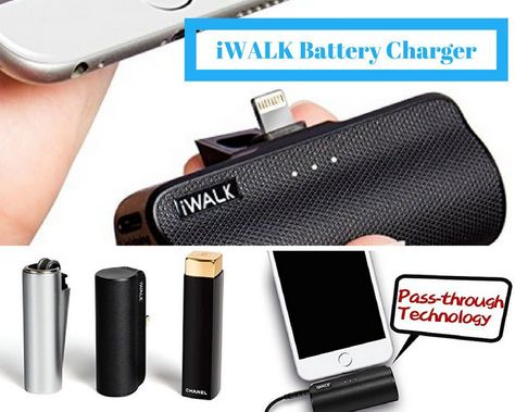 iWALK Battery Charger Portable Power Bank from