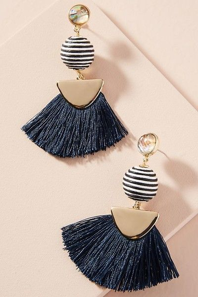 Mamba Drop Earrings - Statement Earrings to Spice Up Any Outfit - Photos