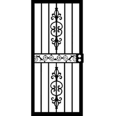 36 In X 80 In 405 Series Black Strike Security Door Security Door Door And Window Design