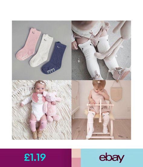 Baby Infants Kids Toddlers Girls Boys Knee High Socks Tights Leg Stockings 0-4 Y