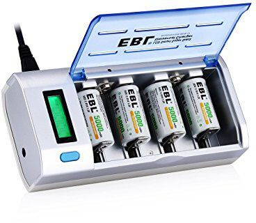 Top 10 Best Rechargeable Battery Chargers In 2021 Reviews Amaperfect Smart Charger Universal Battery Charger Rechargeable Batteries
