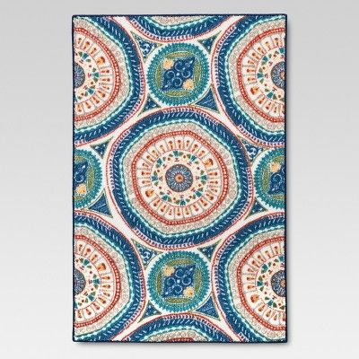 Medallion Accent Rug Threshold Target Accent Rugs Floral