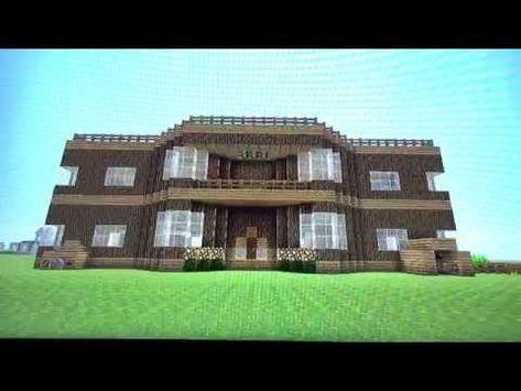 ماين كرافت بناء بيت خورافي ١ Minecraft Build A House 1 Youtube House Styles Mansions House