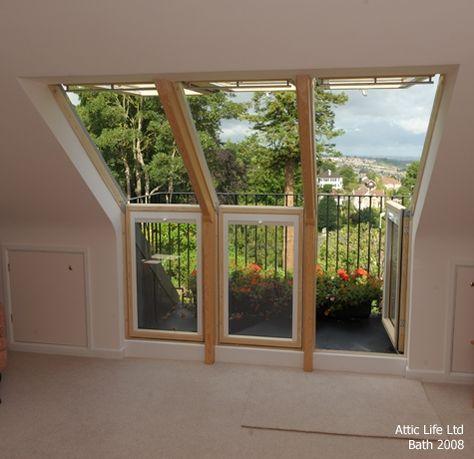 Attic Life Ltd   Loft Conversions   Balconies