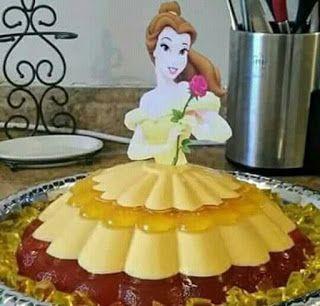Aprende Cómo Hacer Gelatina De Princesas Para Fiestas Infantiles Lodijoella Gelatinas De Princesas Gelatinas Para Fiestas Gelatinas