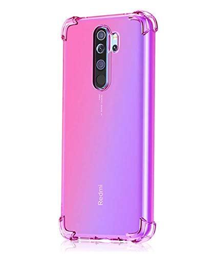 Leychan For Xiaomi Redmi Note 8 Pro Case Shockproof Tpu Bumper Case Double Color Soft Rubber Anti Drop Protective Case Cover Fit For Xiaomi Redmi Note 8 Pro Ph Soft Rubber Protective Cases