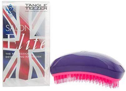 Amazon Com Tangle Teezer Salon Elite Hair Brush Purple Crush