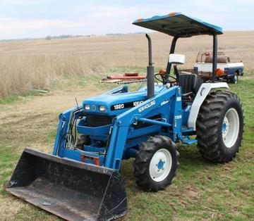 New Holland Ford 1920 Tractor Operators Manual New Holland Ford New Holland Tractors
