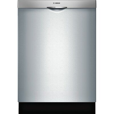 Bosch 300 Series 24 44 Dba Built In Fully Integrated Dishwasher With 3rd Rack And Precisionwash Finish Stainl Best Dishwasher Integrated Dishwasher Steel Tub