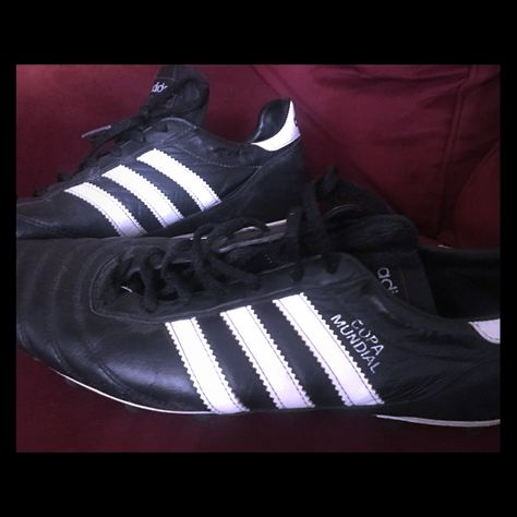 Details about Adidas Men's Copa Mundial Soccer Cleats, New, Black White