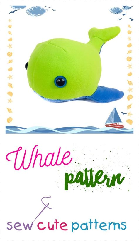 List of Pinterest whale pattern sewing pictures & Pinterest whale ...