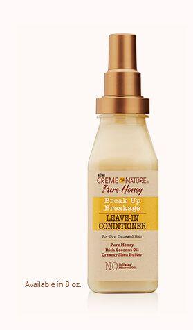 Break Up Breakage Leave In Conditioner Creme Of Nature Leave In Conditioner Moisturize Dry Hair Help Dry Hair