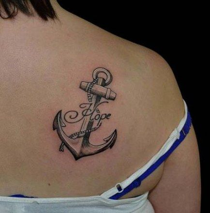 Pin On Anchor Tattoo