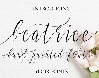 Digital Font Calligraphy Font Font Download Handwritten Font