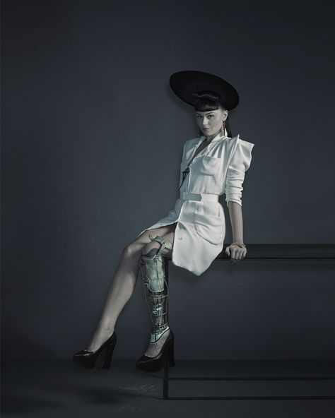 Viktoria Modesta photographed by Nadav Kander for the New York Times Magazine, 2013. http://designobserver.com/feature/exposure/38719