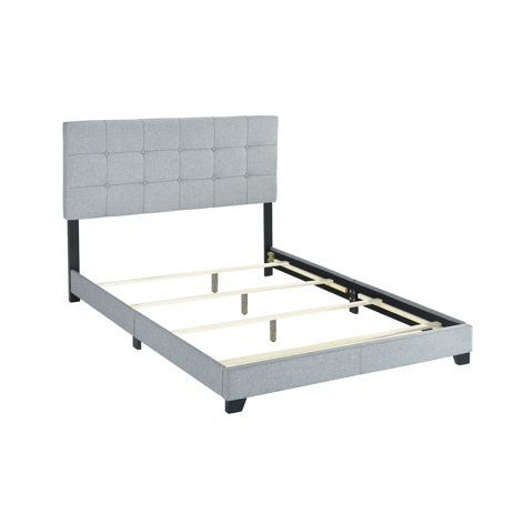 Crown Mark Florence Gray Panel Bed, Multiple Sizes   Walmart.