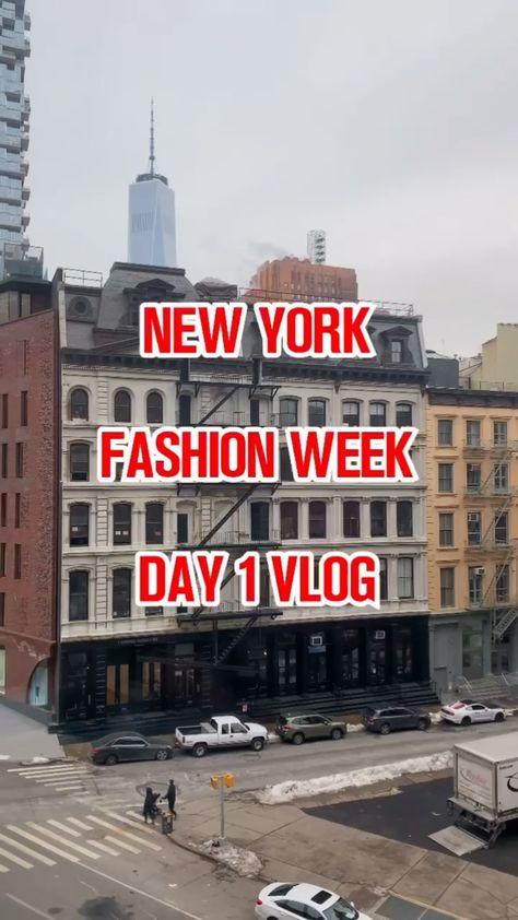 New York Fashion Week Day 1 Vlog