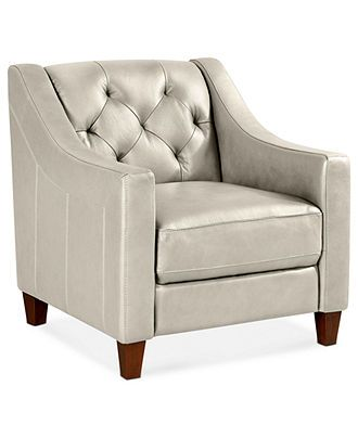 Claudia II Leather Living Room Chair 31 W X 35D 33H