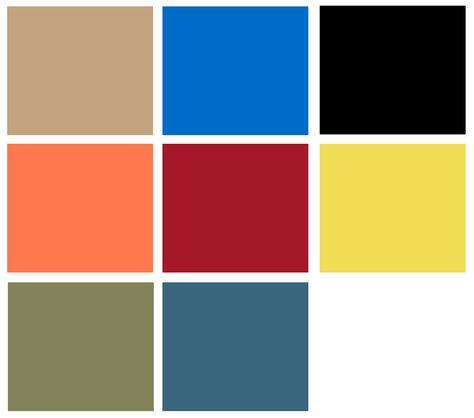 Eco Active Colour Palette