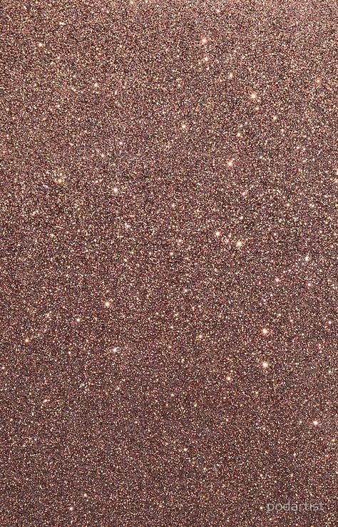 Bronze Burnished Metallic Brown Glitter
