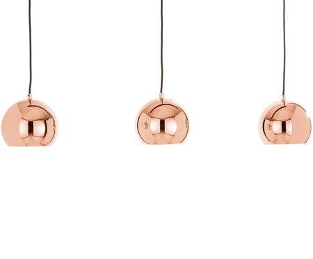 Kugel Pendelleuchte Ball In Kupfer Mit Bildern Pendelleuchte Lampe Kupfer Kupfer