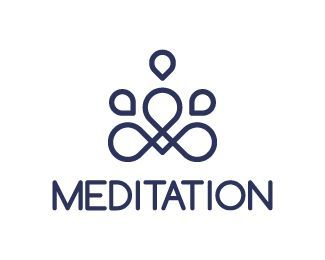 customizable logo for sale meditation customizable logos for sale my works yoga logo inspiration meditation logo yoga pinterest