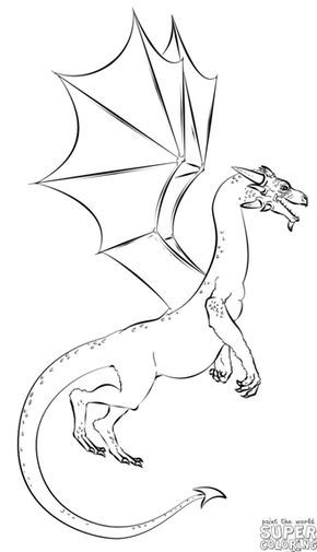 How To Draw A Realistic Dragon Step By Step Drawing Tutorials